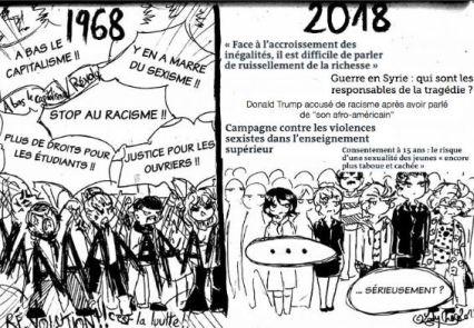Capture - Encre libre - Meilleur dessin de presse JQV 2018